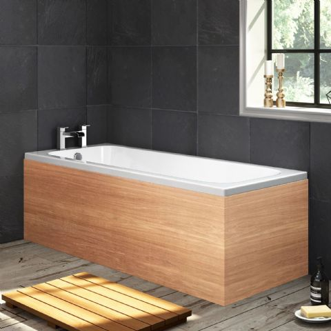Custom Size Marine Ply 1 Piece Bath Panels